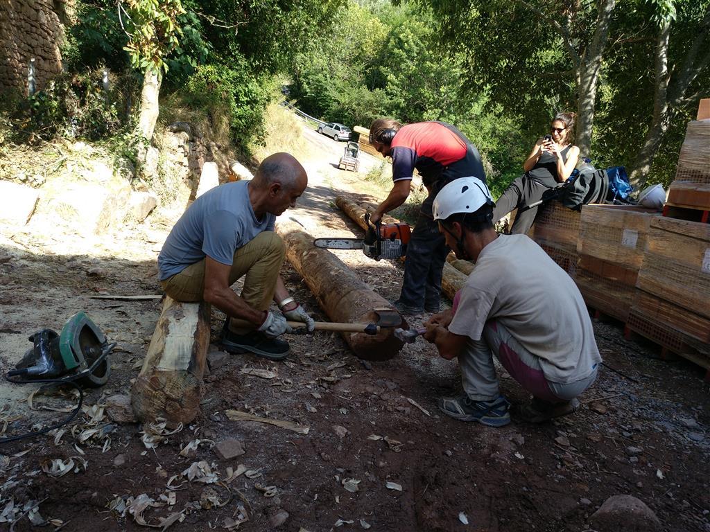 Cooperació i rehabilitació tradicional